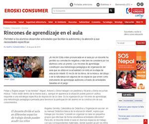 Rincones de aprendizaje en el aula para facilitar la autonomía y la atención a necesidades específicas (consumer.net)