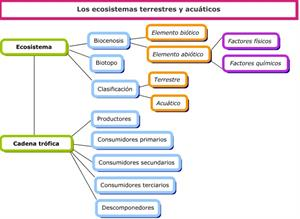 Secuencia didáctica: Los ecosistemas terrestres y acuáticos