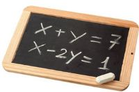 Búsqueda de términos desconocidos, ecuaciones algebraicas (Icarito.cl)