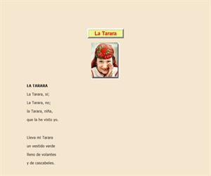 La Tarara, lectura comprensiva interactiva