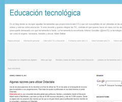 Algunas razones para utilizar Didactalia | Educación Tecnológica