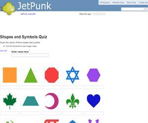 Shapes and Symbols Quiz