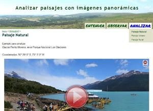 Analizar paisajes con imágenes panorámicas