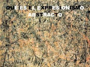 Expresionismo abstracto. Artecreha