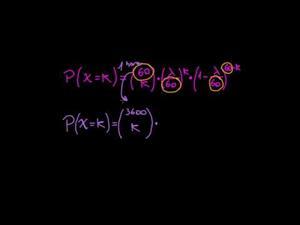 Distribución de Poisson  (Khan Academy Español)