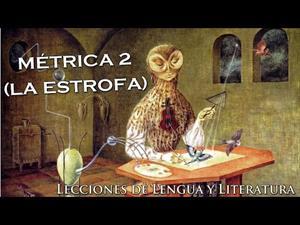 LA ESTROFA (Definición, características y clasificación)