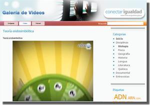 Vídeos educativos de Ciencias Naturales en Educ.ar