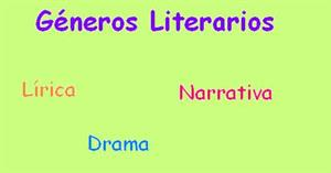Grandes géneros literarios (Educarchile)
