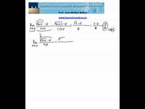 Cálculo de un límite (ind. 0/0 con raíces)