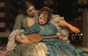 Frederic Leighton. Museo del Prado