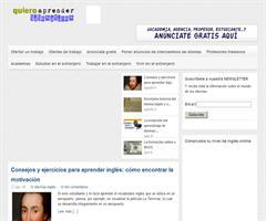 Un nuevo portal con información y recursos para aprender idiomas