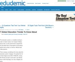 7 Global Education Trends To Know About | Edudemic