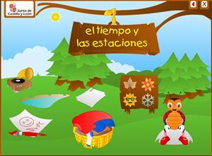 El tiempo y las estaciones (educa.jcyl.es)