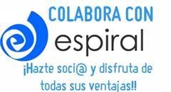 Colabora con Espiral, ¡hazte soci@!