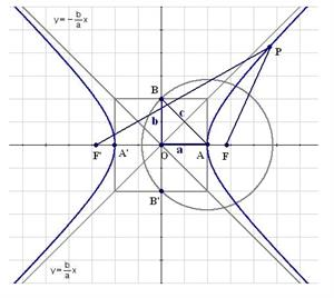 Study of the hyperbola
