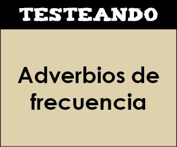 Adverbios de frecuencia. 6º Primaria - Inglés (Testeando)