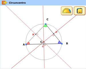 Circuncentro, Trigonometría (educaplus.org)