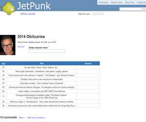 2014 Obituaries