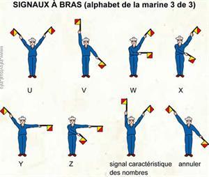 Signaux à bras (3) (Dictionnaire Visuel)