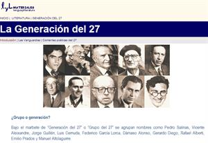 La Generación del 27. Literatura en la Edad de Plata (Materiales de Lengua)