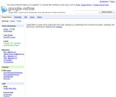 Google Refine