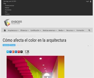 El color en la arquitectura.