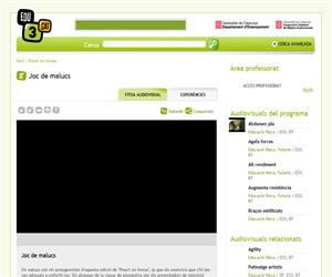 Joc de malucs (Edu3.cat)