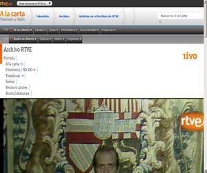 Mensaje del rey Juan Carlos tras la intentona golpista del 23-F, Noticias en el Archivo de RTVE