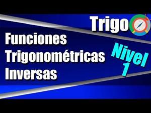 Funciones Trigonométricas Inversas