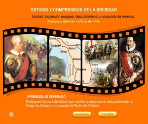 Almagro y Valdivia: La ruta de Chile (Educarchile)