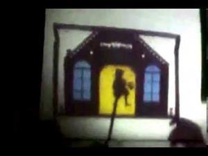 Teatro de sombras (Caperucita roja)
