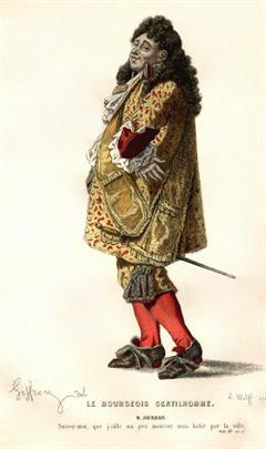 Molière: El ricachón en la corte