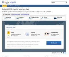 Zeitgeist 2010: Cómo ha buscado el mundo (según Google)