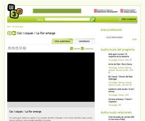 Cóc i coques / La flor amarga (Edu3.cat)