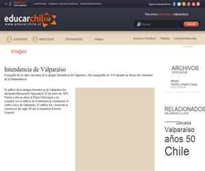Intendencia de Valparaíso (Educarchile)