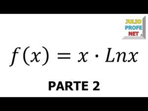 Aplicación de la Derivada al trazado de curvas. Parte 2 de 2 (JulioProfe)