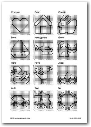 Figuras en el plano cartesiano (neoparaiso.com)
