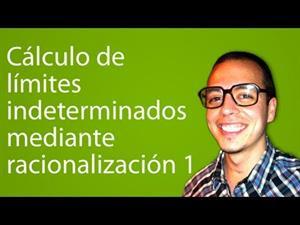 Cálculo de límites indeterminados mediante racionalización 1 (Tareas Plus)