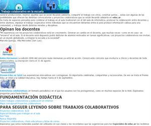 Especiales educ.ar - Convocatorias y comunidad