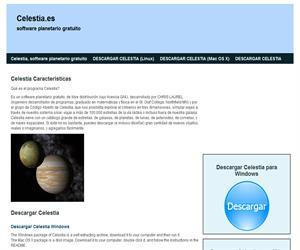 Celestia.Planetario virtual
