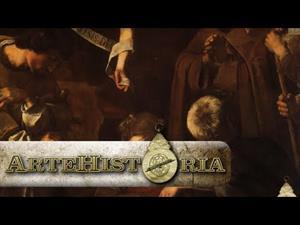Natividad con dos santos de Caravaggio