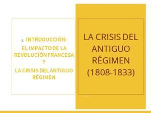 1.Historia de España (siglo XIX) de 2° de Bachillerato