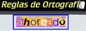 Ahorcado, juego interactivo para mejorar vocabulario y ortografía