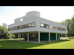 Villa Saboya en Poissy, de Le Corbusier