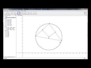 Baricentro, circuncentro, incentro y ortocentro con Geogebra