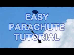 Make an Easy Parachute for Model Rockets