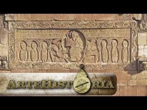 Dintel de la iglesia de Sant Genis les Fonts