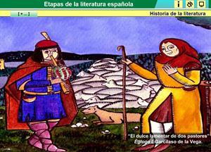 Etapas de la literatura española. Historia de la literatura