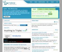 Sindice - The semantic web index