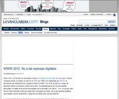WWW 2012: No a las esposas digitales